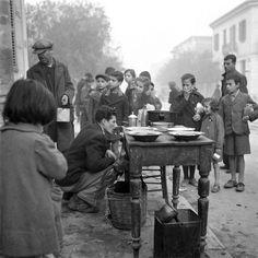Αθήνα, Συσσίτιο κατά τη διάρκεια της Κατοχής,1941....
