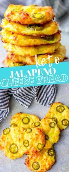 4 Ingredient Keto Jalapeno Cheese Bread ⋆ Sweet C's Designs