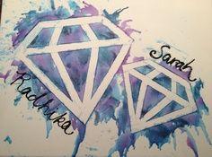 diamond sister painting