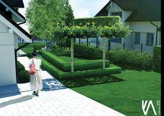 PROJECT / PRIVATE GARDEN 'BRZOZÓWKA' visualisation 'I'  ELEGANCE/ SIMPLYCITY / MINIMALISM Landscape Design, Sidewalk, Landscape Designs, Sidewalks, Pavement, Walkways