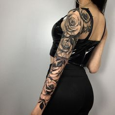 Have you ever considered closing the tattoos arm? - Have you ever considered closing the tattoos arm? Dope Tattoos, Hand Tattoos, Arm Sleeve Tattoos, Badass Tattoos, Sleeve Tattoos For Women, Unique Tattoos, Beautiful Tattoos, Body Art Tattoos, Girly Sleeve Tattoo