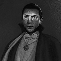 Close up of @jonathan_burton_'s haunting new Dracula print for @mondocon. Sleep tight. #Dracula by handsome_frank