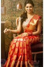 Vivaha Branded Bridal Silk Saree VBBS2003 http://www.shopcost.in/bridal+silk+saree