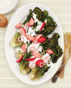 Charred-Romaine Salad Recipe