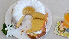 Σιροπιαστό κέικ καρύδας χωρίς αυγά και βούτυρο - cretangastronomy.gr Pancakes, Dairy, Food And Drink, Eggs, Cheese, Breakfast, Recipes, Best Cheesecake, Morning Coffee