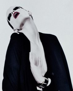Iris Strubegger photographed by Willy Vanderperre for V Magazine #60.