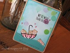 A Video by Nicole Showing How Her Card for the August 2013 Card Kit by Simon Says Stamp was Created.