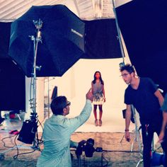 On set at the #CAbi #Spring'13 photo shoot! Spring is in bloom and looking chic! - can you stand this sneak peek of spring?