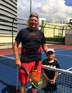 Philippine Tennis Coach, Tarny @ThePTTA #PhilippineJuniorTennis #ortigas #manila