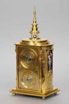 So-called Viennese astronomical clock  Artist: Jobst Bürgi  Lichtensteig 1552 - 1632 Kassel    Attributed to: Jan Vermeyen  Brussels from 1559 - 1606 Prague    Prague  about 1605