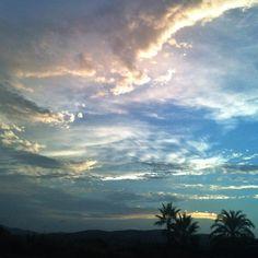 Núvols de tardor. Autum clouds. Nubes de otoño
