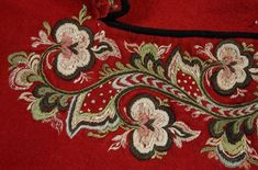 Embroidery Suits Design, Norway, Paper, Embroidery, Culture