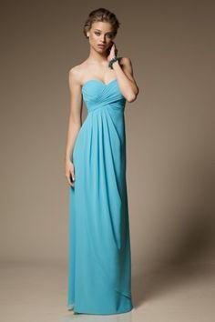 2397bbf25d Crisscross Sheath Sweetheart Floor-length Chiffon Bridesmaid Dress - Order  in navy
