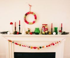 Boho Christmas...love it!