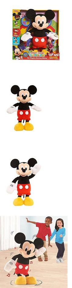 Mickey 19219: Just Play Hot Diggity Dancing Mickey Plush - New Open Box -> BUY IT NOW ONLY: $47.19 on eBay!