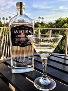 Aviation American Gin Cocktail Art