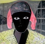 """""""NU 2013"""", acrylic on canvas, 140 x 140 cm, 2013 - Maia Stefana Oprea www.maia-fine-art.com"""