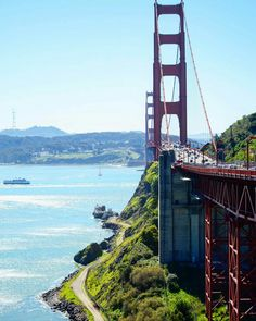 Golden Gate Bridge by katya_newyork #sanfrancisco #sf #bayarea #alwayssf #goldengatebridge #goldengate #alcatraz #california
