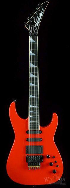 Jackson Custom Shop Limited Edition 30th Anniversary Soloist Ferrari Red - Preowned