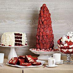 Red Velvet Revelry: a dessert buffet of red velvet recipes