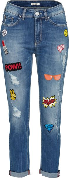 Patch Jeans More