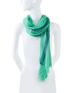 Colorful Stripe Scarf from THELIMITED.com #TheLimited #Accessory #SpringStyle