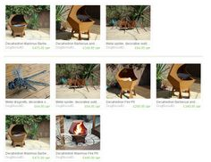 DogBiscuitDesigns Handcrafted, one-of-a-kind Fire Pits and BBQ's
