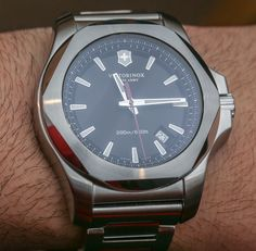 """New Victorinox Swiss Army INOX Watches For 2015 With Red, Remade, Naimakka Models - by Ariel Adams - see all the intriguing new models & variations: http://www.ablogtowatch.com/victorinox-swiss-army-inox-watches-2015-red-remade-naimakka/ """"The popular Victorinox Swiss Army I.N.O.X. ('INOX') watch collection gets expanded for 2015 with a range of interesting new models including a few that are limited editions. Victorinox Swiss Army has done really well with the INOX during its first year for…"""