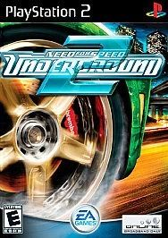 Need for speed Underground for Playstation 2