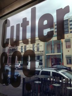 Cutler & Co. in Fitzroy, VIC