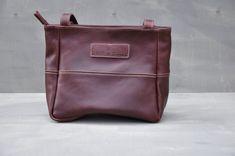 Jana Bag - (Maroon) Leather Backpack, Messenger Bag, Satchel, Zipper, Pocket, Shoulder, Boots, Cotton, Black