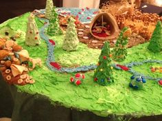 Hunger Games gingerbread house...or terrain..or something