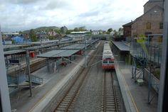 Asker trainstation in Akershus, Norway