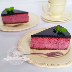 Jagodowy sernik na zimno | Świat Ciasta