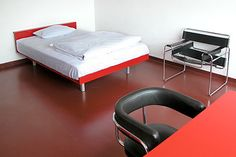 What Is Bauhaus Design | ... breakfast in the rooms that used to be occupied by Bauhaus students