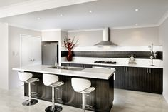 Elegant and sophisticated kitchen