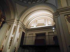 Capilla de Nuestra Señora del Buen Consejo. Esta capilla tiene forma de cruz latina.