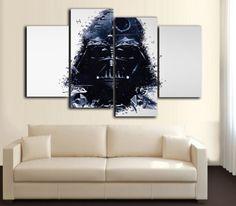HD Printed Star Wars - DARTH VADER 4 Piece Canvas