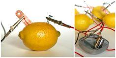 Make a Lemon Battery {Science for Kids}