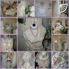 1. A corner of my family room., 2. Vignette in Family Room, 3. A corner in my family room., 4. Frilly Vintage Dress & Hats & Purse, 5. Arbor in the Family Room, 6. Family Room, 7. Vignette in a corner of my family room, 8. Vintage Bridal Gown, 9. A c