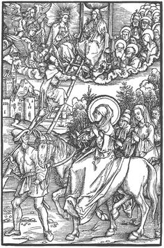 Illustration to Revelationes Sancte Birgitte (1500) - Albrecht Durer