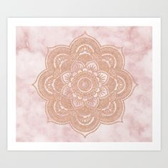 popular mandala Art Print | Society6