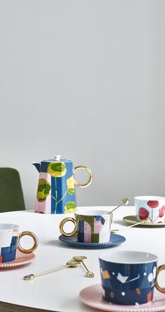 Opt for the Astratto Teapot for an artful afternoon tea.