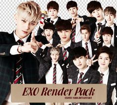 We Are One! Exo forever n ever.SARANGHAE!