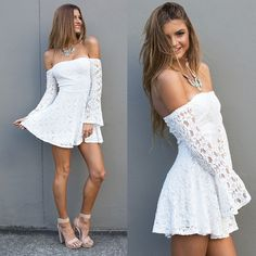 I need a good white dress in my life!