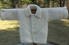 Alpaca & Wool Baby Sweater by KingstonAlpacaKnits on Etsy
