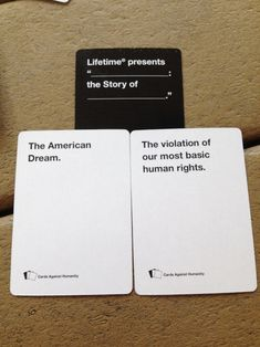 Whoa. Too real. | 20 Cards Against Humanity Games That Got WAY Too Real