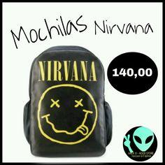 Veja nosso novo produto Mochila Nirvana ! Se gostar, pode nos ajudar pinando-o em algum de seus painéis :)