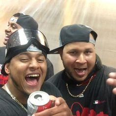 So much joy in this video! Love it! NL Central Champs!!