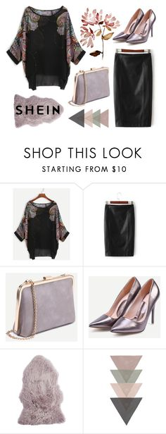 """""""shein style"""" by sheinfashion ❤ liked on Polyvore featuring Pier 1 Imports"""